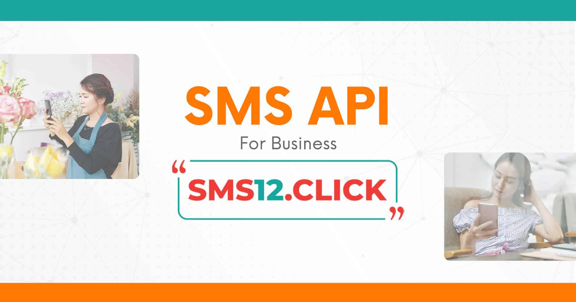 SMS API for Business - SMS12.click